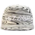 Zebra Snapback Cap Front